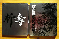 steelbook Métal Gear Rising + carte dlc valide PS3 / envoi gratui et protégé