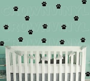 Dog-Paw-Print-Decals-Pet-Animal-1-5-034-or-2-5-034-Wall-Window-Floor-Stickers-Big-Set