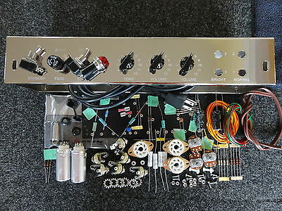 Deluxe_ TWEED_DELUXE 5E3_Guitar_Amp_Tube_5E3 Chassis_Kit_DIY  F&T, Mallory