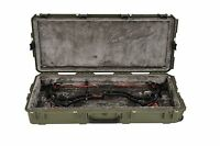 Od Green Skb Parallel Limb Single Bow Case 3i-4217-pl-m & 2 Tsa Locking Latches
