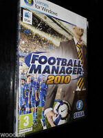 Football manager 2010     pc game