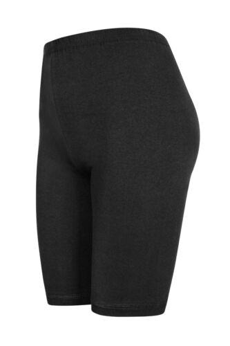 viele Farben Größen 110 bis 146 2 Stück Mädchen Shorts aus Baumwolle