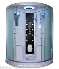 Two Person Steam Shower Room. Thermostat,Bluetooth Audio.6 Year US Warranty