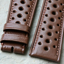 Vintage 1960s/70s rally band 22mm takes 16mm buckle for 22mm vintage chronograph