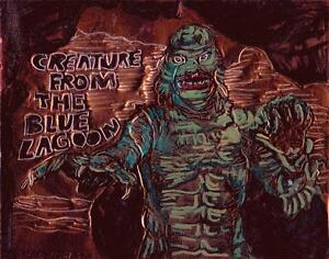 034-CREATURE-FROM-THE-BLUE-LAGOON-034-by-RUTH-FREEMAN-ETCHED-COPPER-FOIL-8-034-X10-034