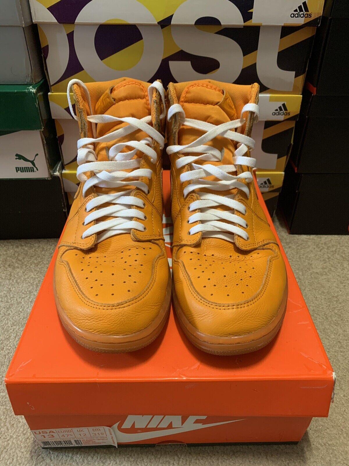 Jordan Retro 1 orange Peel Gatorade Size 13 2 4 5 6 7 8 9 10 11 12 14 15