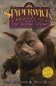 034-AS-NEW-034-The-Seeing-Stone-Spiderwick-Chronicle-DiTerlizzi-Tony-Black-Holly