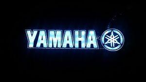 Yamaha-motorcycle-YBR-Fazer-etc-LED-light-sticker-12v-White