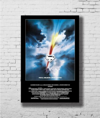 24x36 14x21 40 Poster Superman Movie DC Comics Super Hero Art Hot P-2678 1978
