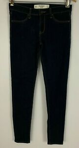 Abercrombie-amp-Fitch-The-A-amp-F-Jegging-Jeans-Skinny-Dark-Wash-Size-4-Reg-27W-29L