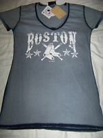 5th & Ocean Women's Boston Red Sox Shirt Large