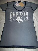 5th & Ocean Women's Boston Red Sox Shirt Large
