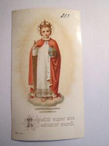 Regnabit super vos salvator mundi / Andachtsbild Heiligenbild