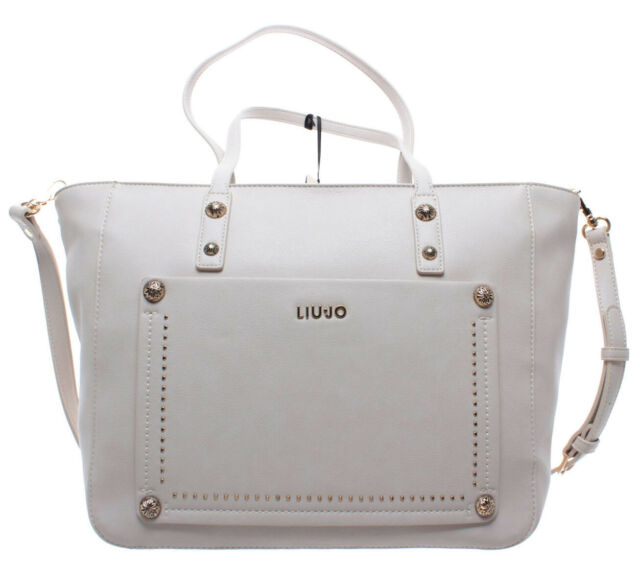 Necesario Finalmente Alternativa  Liu Jo bolso Poppa Plain Shopping S Albatre for sale online | eBay