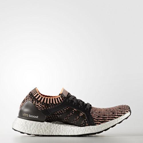 Adidas BA8278 Womens ultra Boost X Running shoes black orange Sneakers
