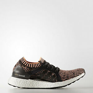 Details about Adidas BA8278 Womens ultra Boost X Running shoes black orange Sneakers