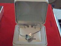 Krementz Princess Pride Sterling Silver Heart Necklace, 18 Inch