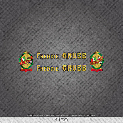 01169 F H Grubb Bicyclette Autocollants-Decals-Transfers