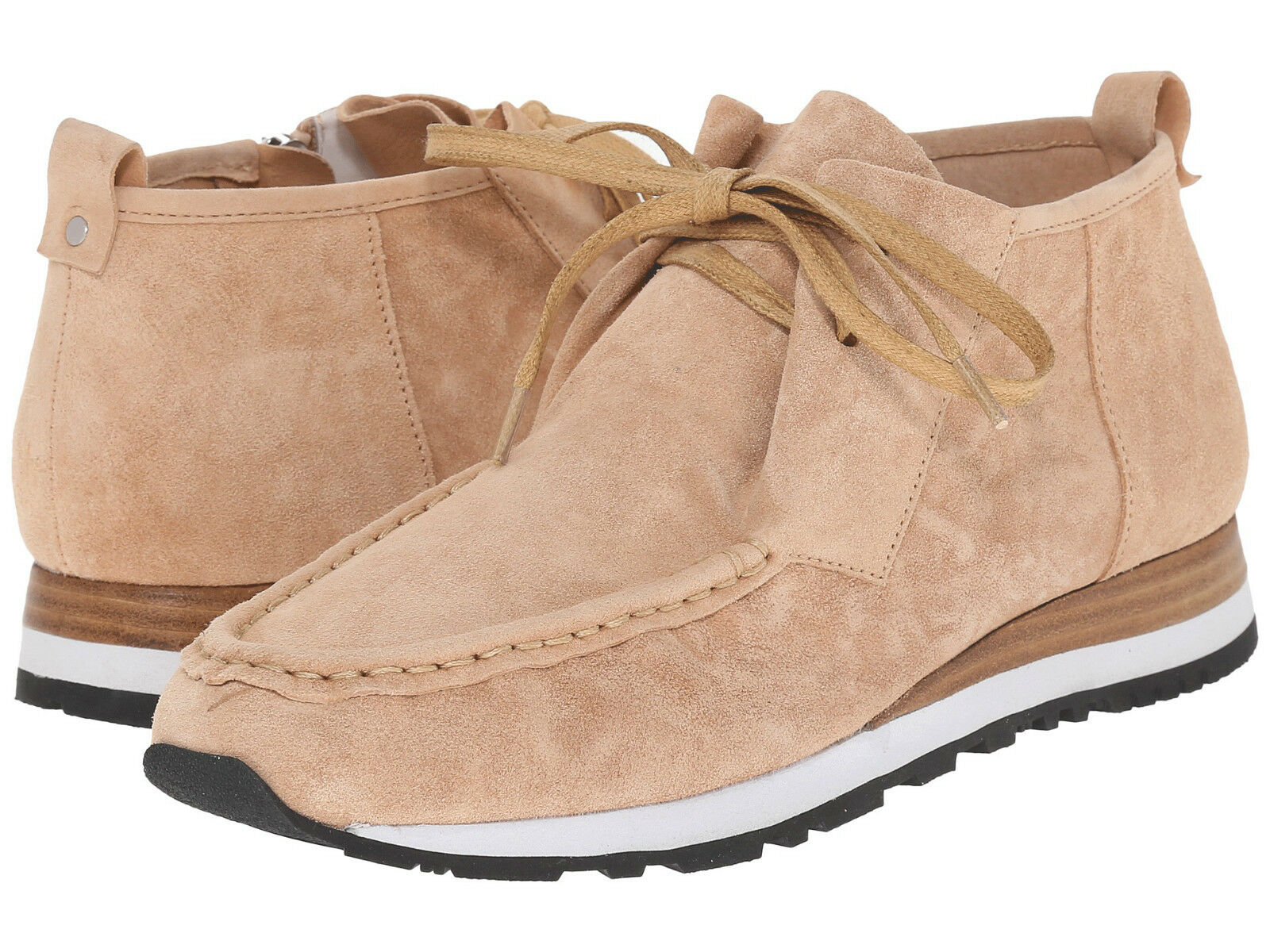 DEREK LAM 10 Crosby bleush Washed Washed Washed Suede JORDIE Zip chaussures ( 6 ) FREE SHIPPING 3720a4