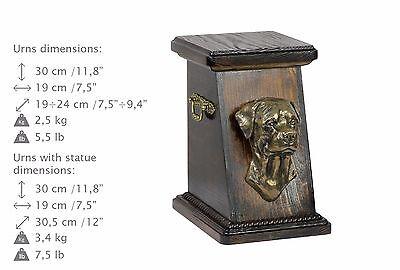 2019 Neuestes Design Rottweiler, Urne, Kalte Bronze, Artdog, De, Type 3