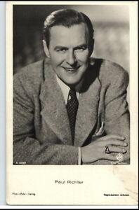 1950-60-Portraet-AK-Film-Buehne-Theater-Schauspieler-PAUL-RICHTER-Foto-Verlag