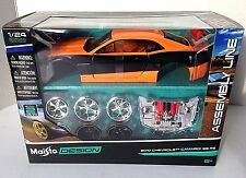 maisto 1/24 assembly line 2010 Chevrolet Camaro SS RS Model Kit  Metal Toy