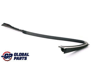 BMW 5 Series F10 F11 Cover Window Frame Door Front Right O/S Black 7182012