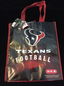 size 40 7961d 52d13 Details about HEB Houston Texans Shopping Tote Gift Bag Texas NFL Football  Longhorn Flag