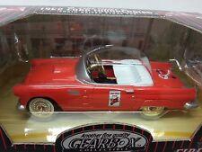 GEARBOX TEXACO FIRE CHIEF 1956 FORD THUNDERBIRD PEDAL CAR RED SERIES #3 q2
