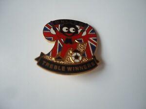 Nadel Badge Manchester United Treble Winners