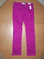 Aeropostale Pink Low Rise Slim Fit Bayla Skinny Jeans Size 5/6