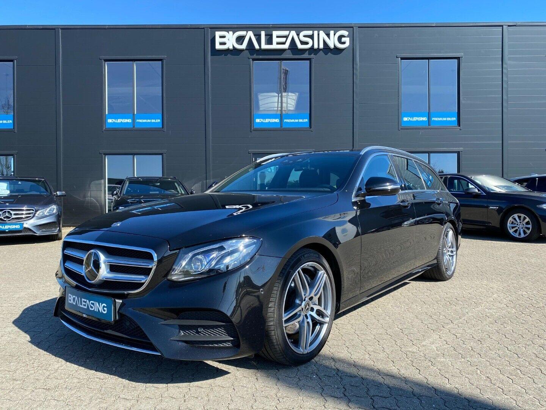 Mercedes E220 d 2,0 AMG Line stc. aut. 5d - 524.800 kr.