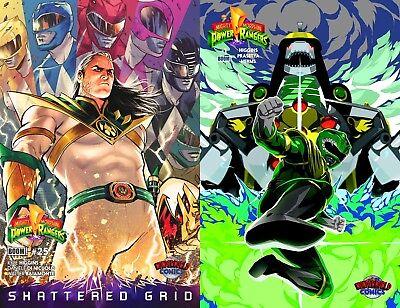 Mighty Morphin/' Power Rangers #1 Wonderworld Comics Green Ranger Variant 25th