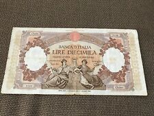 Banconota Lire 10.000 Marinare Decr Min 2 Nov 1961