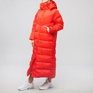 Red Long Parka