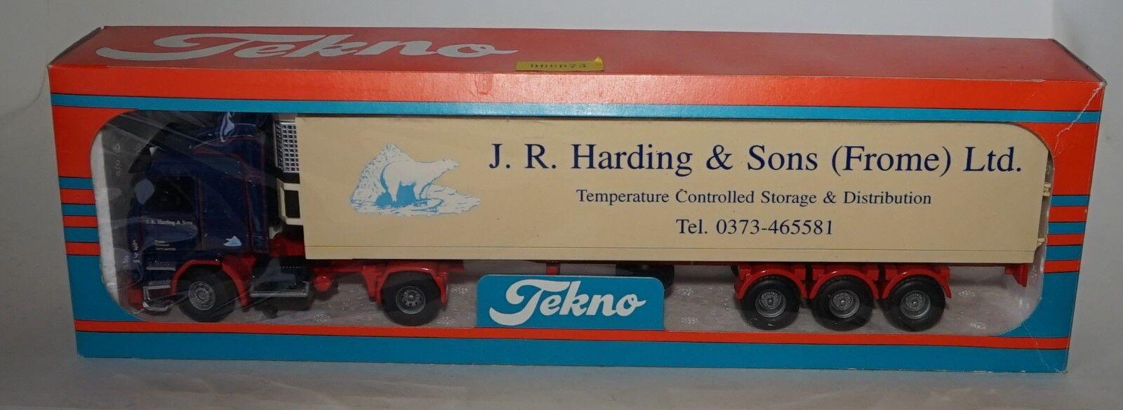 Tekno 911104 SCANIA R 143 2 J.R. Harding & Sons (FROME) Ltd in scala 1 50