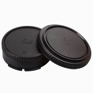 Rear-Lens-Cap-Front-Body-Cover-Protector-For-Canon-FD-Camera-Lens-and-body