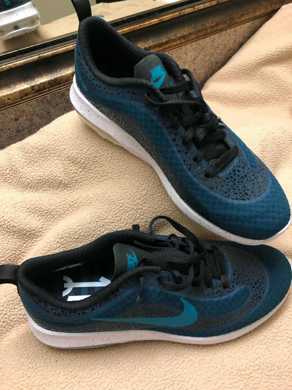 NIKE -AIR -MAX -MERCURIAL -98 -FC  -SHES -MIDNEIGHT -TURQUOISE -10 -8326884 -300 NIKE -AIR  per il commercio all'ingrosso