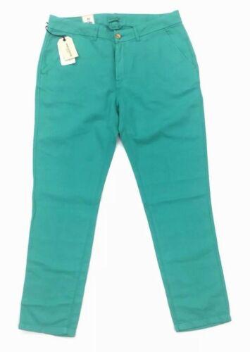 Nouveau Taille Spoke Made Lagoon Pantalon Womens 29x34 Slim Vert Crafted Chino Levi's vqraOv