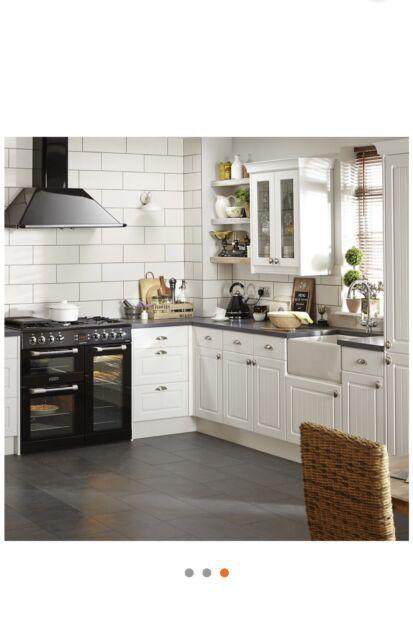 Phenomenal B Q It Kitchens Chilton White Glazed Door W 500Mm Set For 2 Pcs Rrp 72 Each Home Interior And Landscaping Pimpapssignezvosmurscom