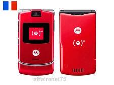 Téléphone Portable Motorola Razr V3 ROUGE  Neuf Débloqué