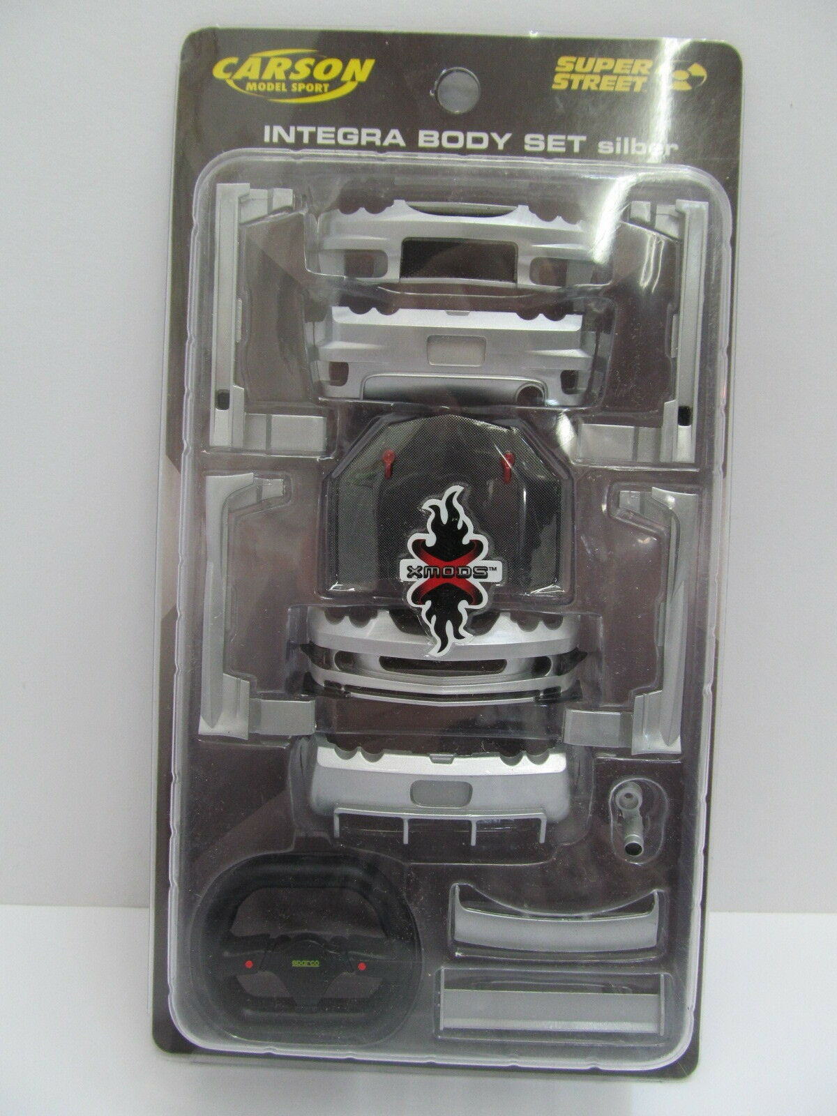 Mes-48848 Mes-48848 Mes-48848 59712 Carson 1 24 integra body set plateado muy buen estado,  los clientes primero