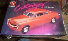 AMT 1949 MERCURY CLUB COUPE 3n1 1/25 CUSTOMIZING SERIES MODEL CAR MOUNTAIN FS