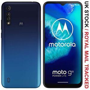 "Nuevo Motorola Moto G8 Power Lite 6.5"" Doble Sim 64GB 2.3GHz 4G LTE Desbloqueado"