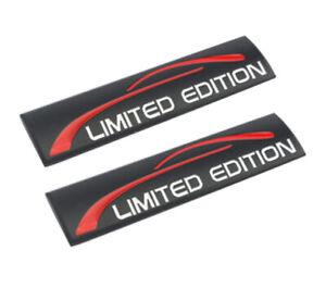 2x-Limited-Edition-Schwarz-Emblem-Badge-auto-aufkleber-car-Sticker-3D-Jeep