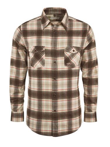 Blaser Twill Camicia Thomas Classic Beige//Braunkariert 118062-087