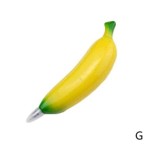 Frucht Plastikkugelschreiber mit Magnet Gemüsekugelschreibern für Kinderbri A3I2