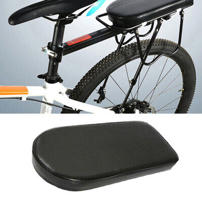 Bike Rear Rack Seat Cushion Bicycle Cargo Soft Leather MTB Cycling Butt Rest//Pad