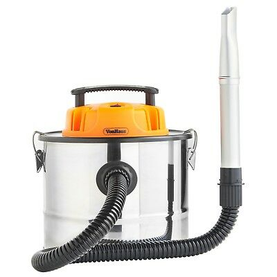 VonHaus 15L Ash Vacuum Cleaner 800W - For Fireplaces, Grills, BBQ's, Fire Pits