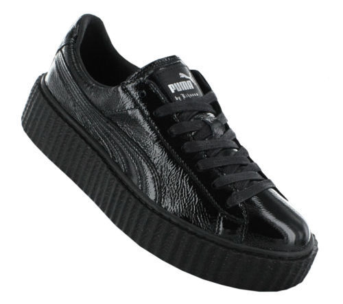 watch ee6f3 590a3 PUMA CREEPER WRINKLED PATENT FENTY BY RIHANNA 364465 01 CHOOSE YOUR SIZE